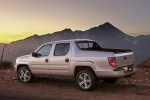 2013 Honda Ridgeline in Alabaster Silver Metallic - Static Rear Left Three-quarter View
